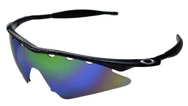 NEW POLARIZED GREEN REPLACEMENT VENTED SWEEP LENS FOR OAKLEY M-FRAME ...